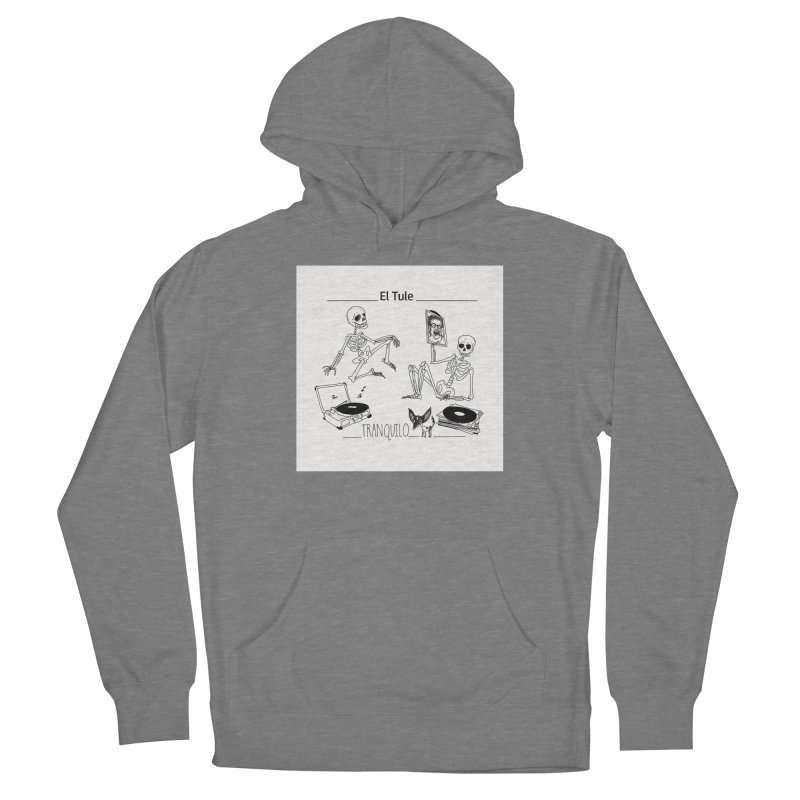 """""""Tranquilo"""" 7"""" Vinyl cover Women's French Terry Pullover Hoody by El Tule Store"""