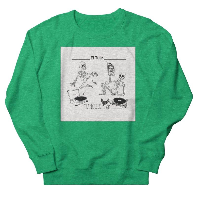 """Tranquilo"" 7"" Vinyl cover Women's Sweatshirt by El Tule Store"