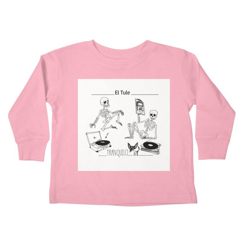 """Tranquilo"" 7"" Vinyl cover Kids Toddler Longsleeve T-Shirt by El Tule Store"