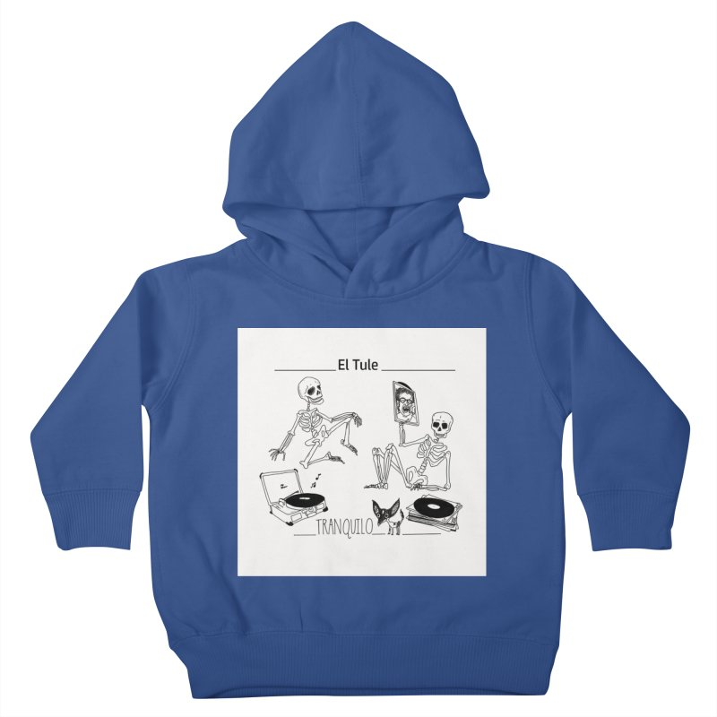 """Tranquilo"" 7"" Vinyl cover Kids Toddler Pullover Hoody by El Tule Store"