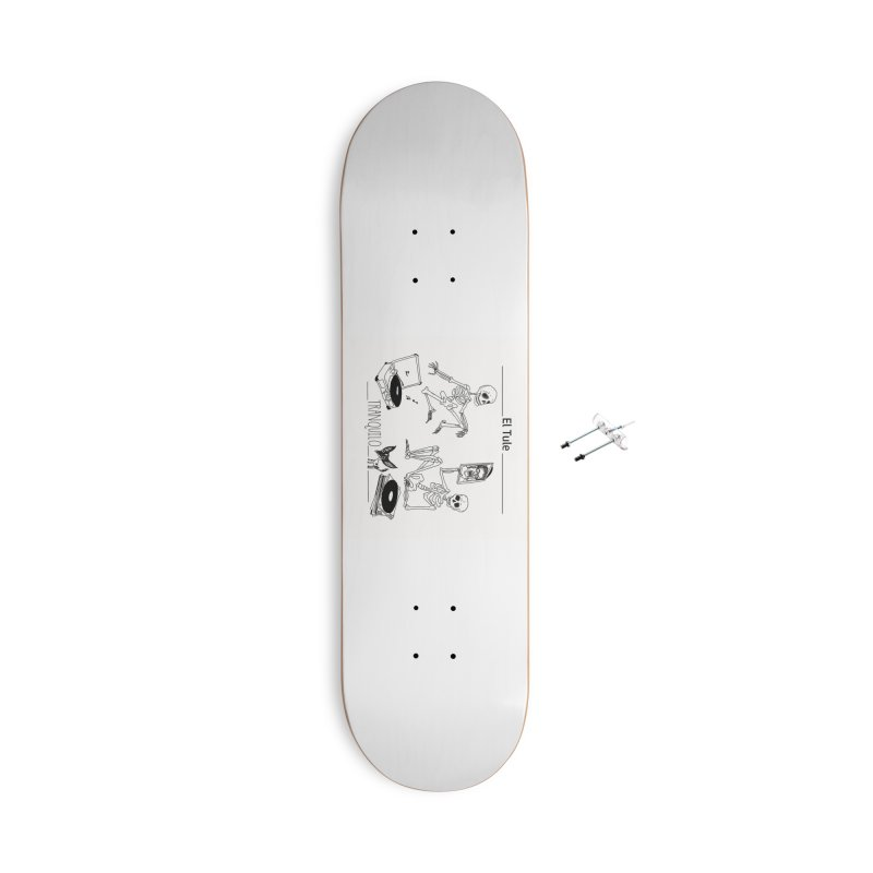 """""""Tranquilo"""" 7"""" Vinyl cover Accessories With Hanging Hardware Skateboard by El Tule Store"""