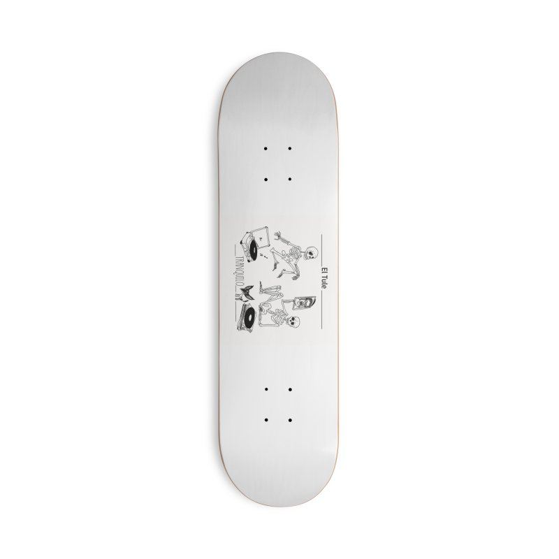 """""""Tranquilo"""" 7"""" Vinyl cover Accessories Deck Only Skateboard by El Tule Store"""