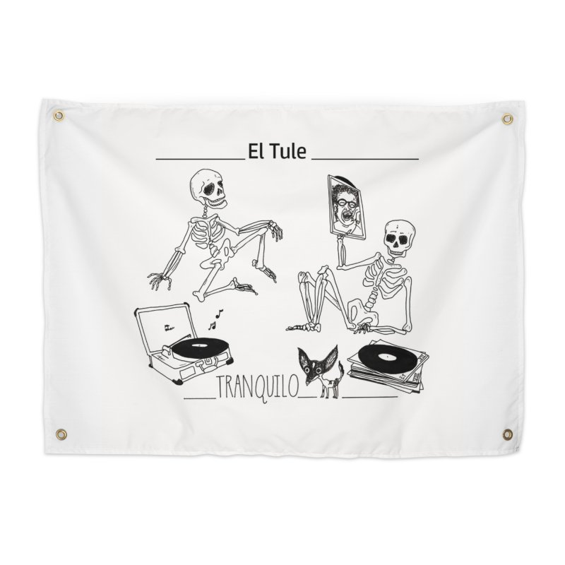 """Tranquilo"" 7"" Vinyl cover Home Tapestry by El Tule Store"