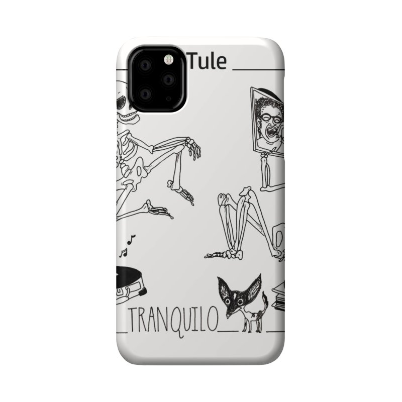 """Tranquilo"" 7"" Vinyl cover Accessories Phone Case by El Tule Store"