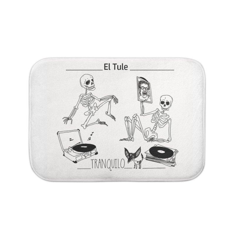 """Tranquilo"" 7"" Vinyl cover Home Bath Mat by El Tule Store"
