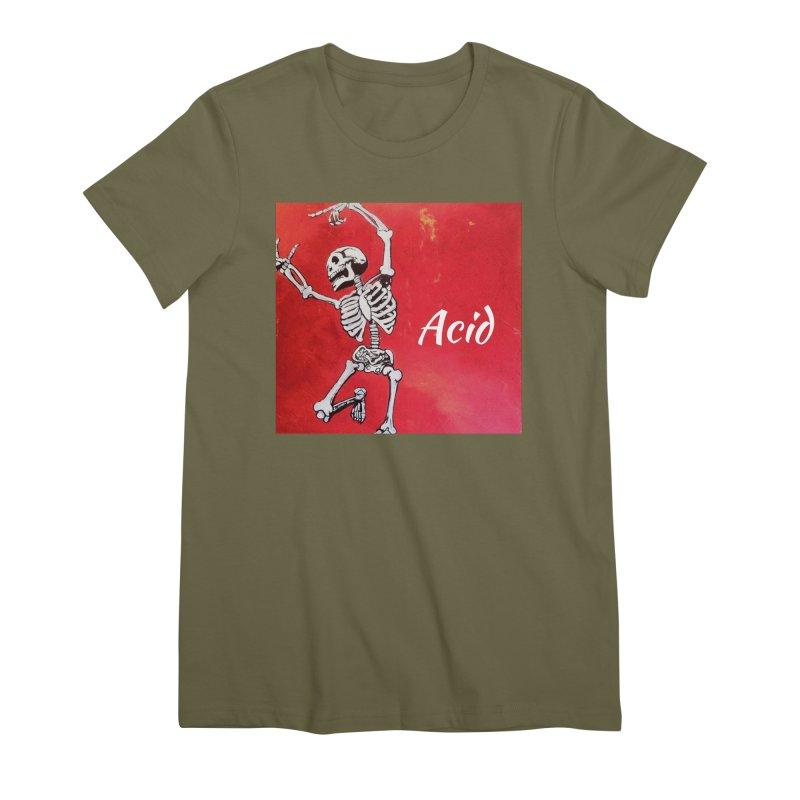 7 inch Vinyl B-side Women's Premium T-Shirt by El Tule Store