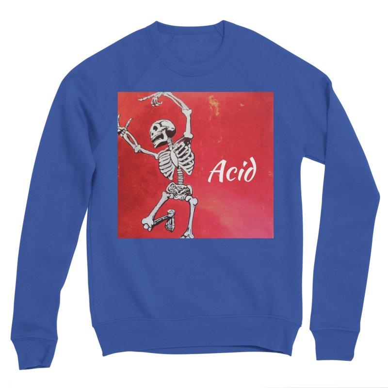 7 inch Vinyl B-side Men's Sponge Fleece Sweatshirt by El Tule Store