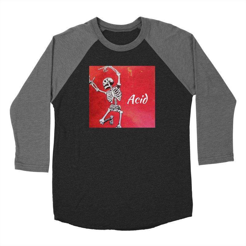 7 inch Vinyl B-side Women's Baseball Triblend Longsleeve T-Shirt by El Tule Store