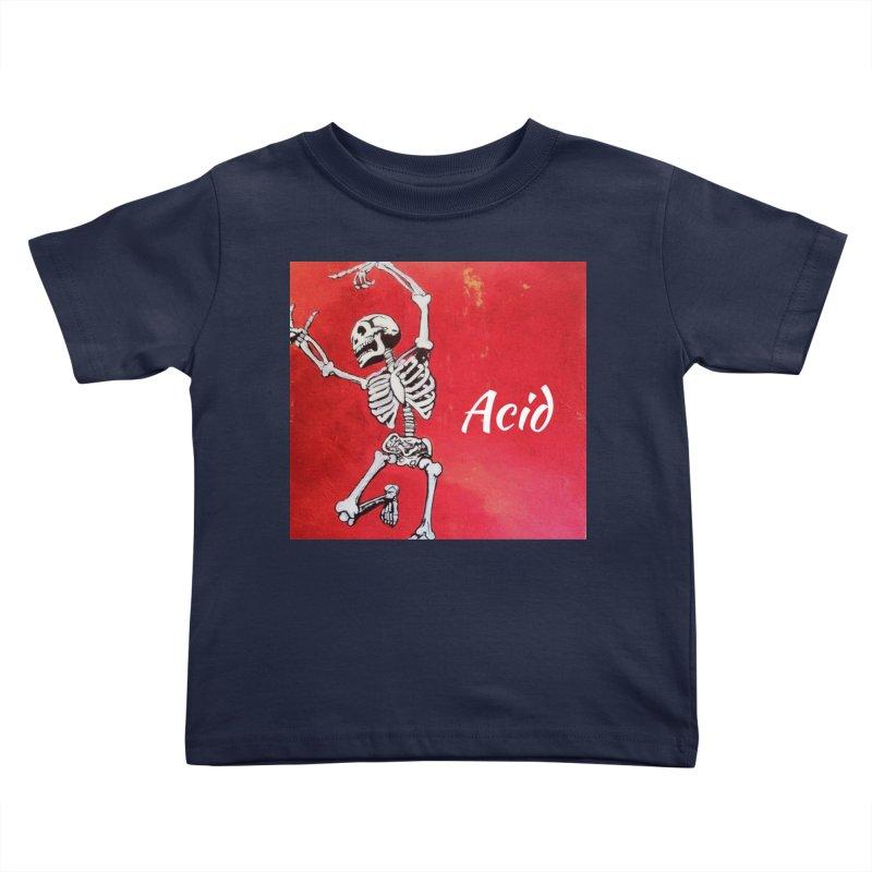 7 inch Vinyl B-side Kids Toddler T-Shirt by El Tule Store