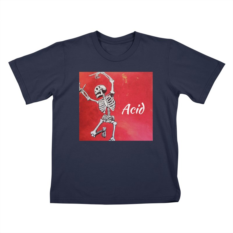 7 inch Vinyl B-side Kids T-Shirt by El Tule Store