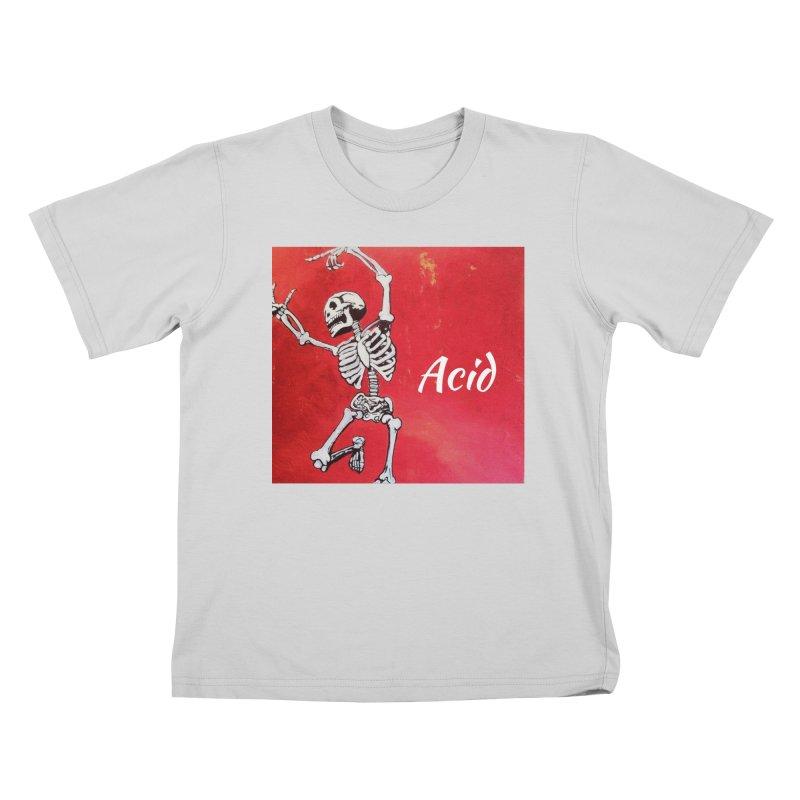 7 inch Vinyl B-side Kids T-Shirt by El Tule Store