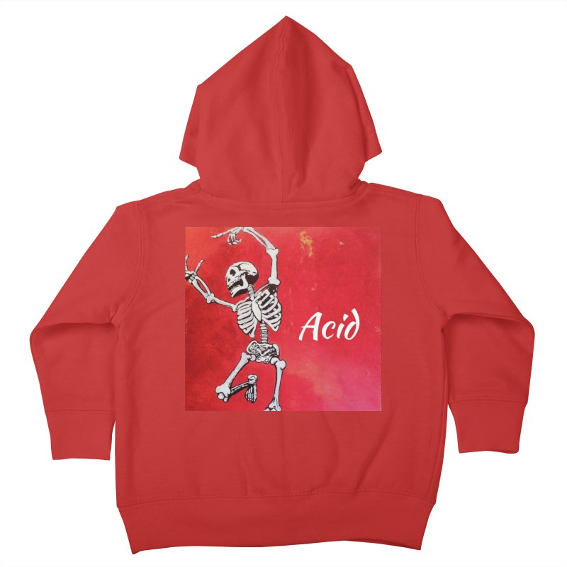 7 inch Vinyl B-side Kids Toddler Zip-Up Hoody by El Tule Store