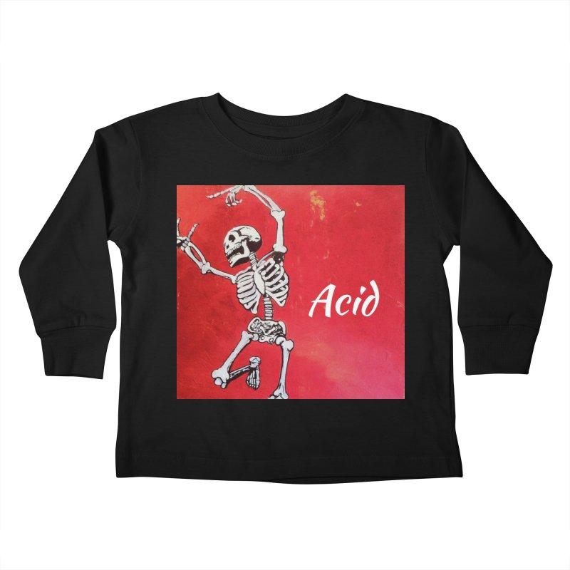 7 inch Vinyl B-side Kids Toddler Longsleeve T-Shirt by El Tule Store