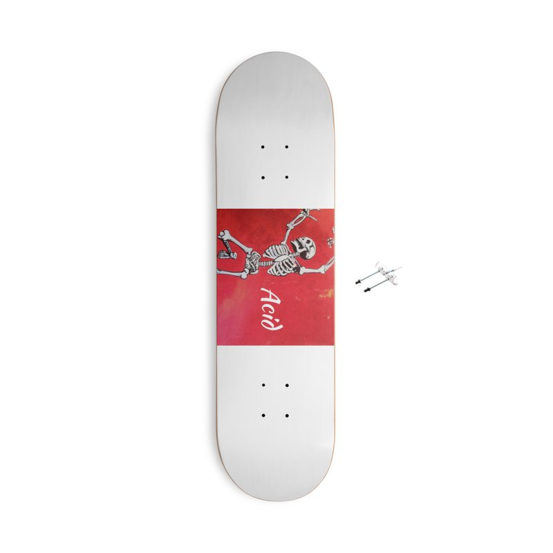 7 inch Vinyl B-side Accessories With Hanging Hardware Skateboard by El Tule Store