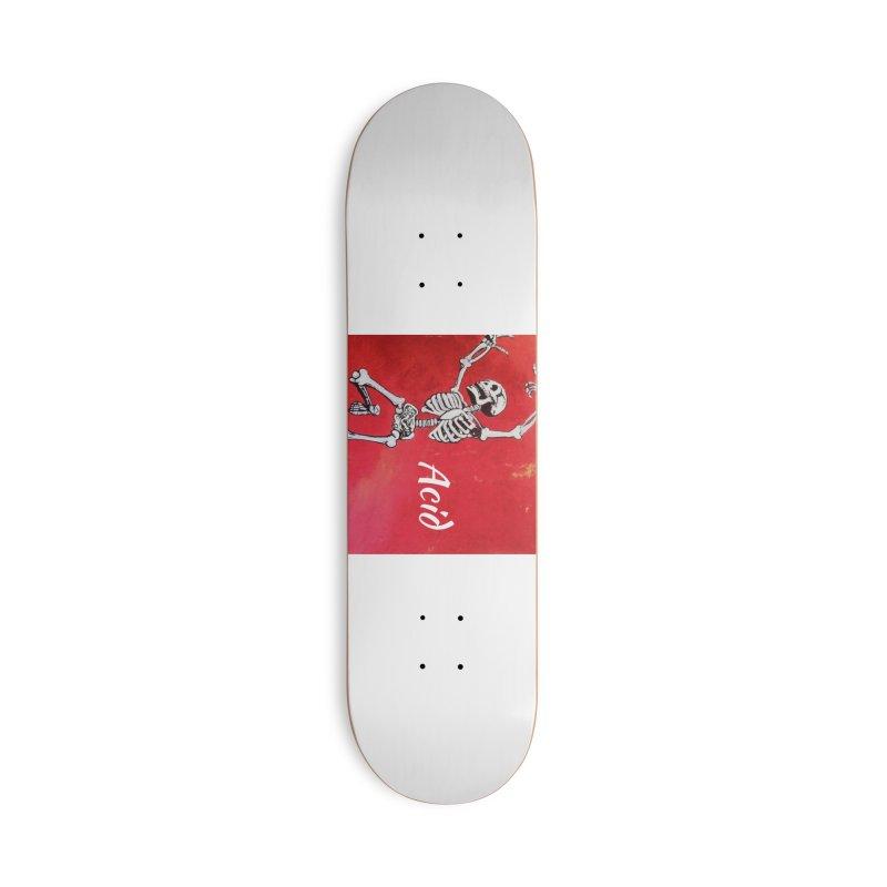 7 inch Vinyl B-side Accessories Deck Only Skateboard by El Tule Store