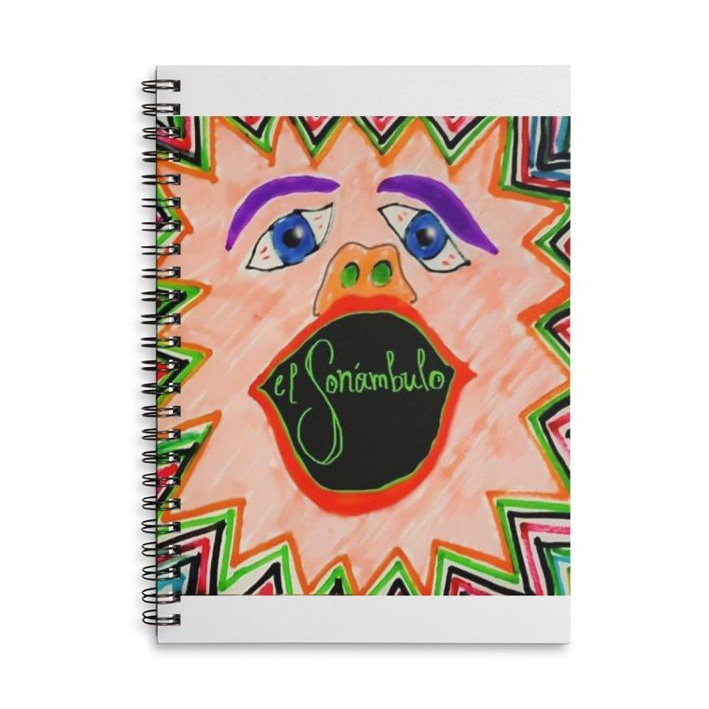 El Sonámbulo Accessories Notebook by El Tule Store