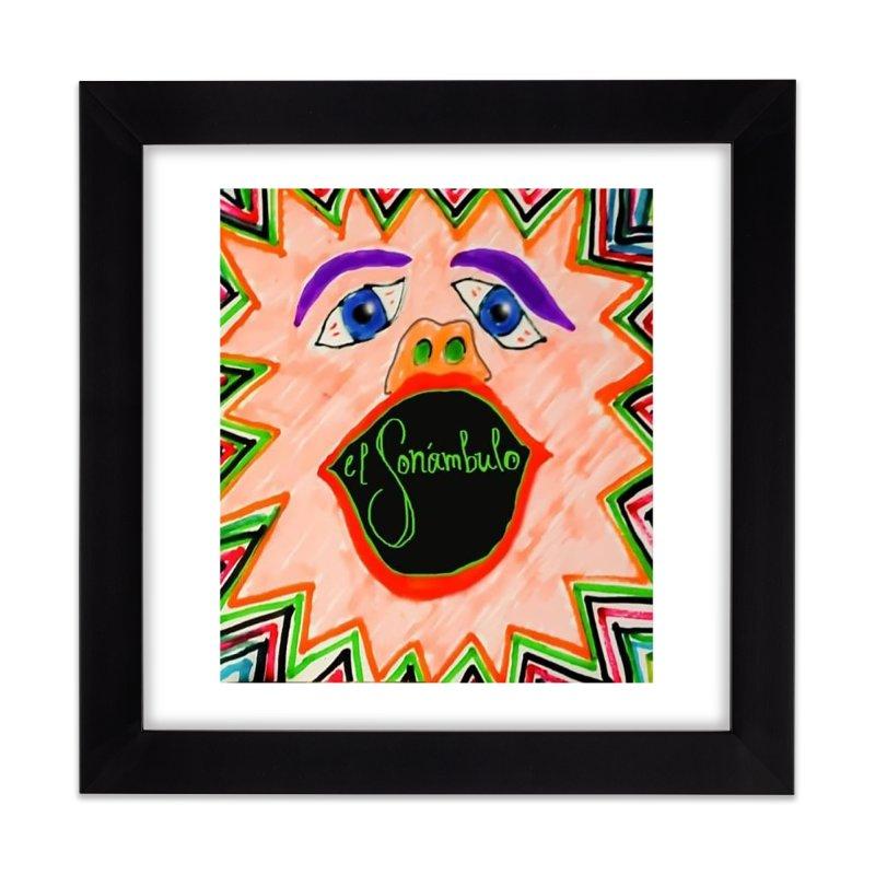 El Sonámbulo Home Framed Fine Art Print by El Tule Store
