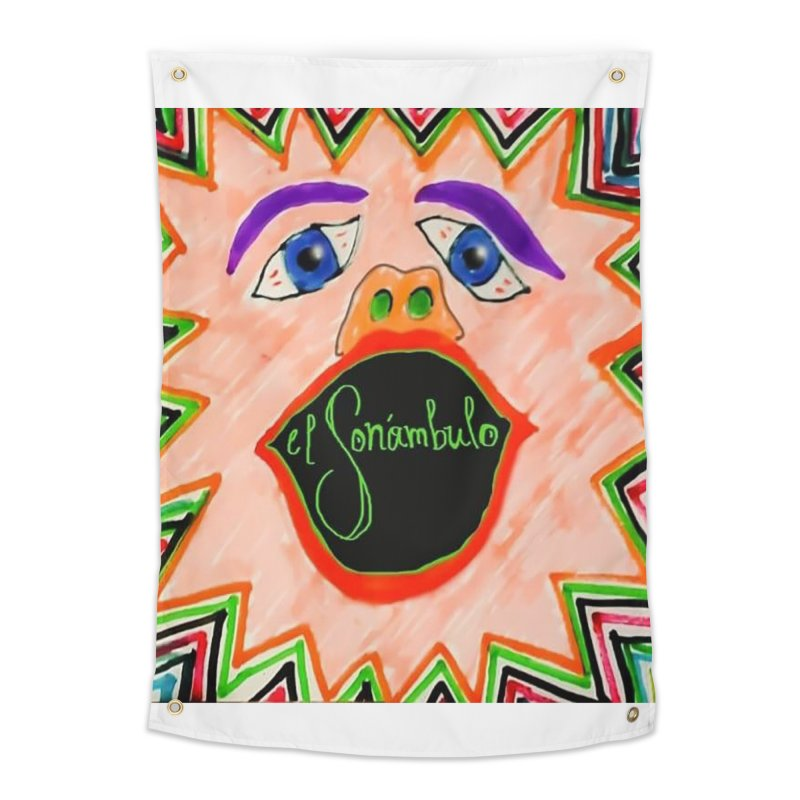 El Sonámbulo Home Tapestry by El Tule Store