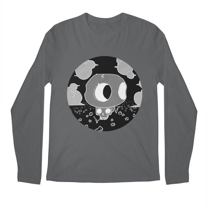Toad Skull Men's Longsleeve T-Shirt by Elan McCausland's Artist Shop