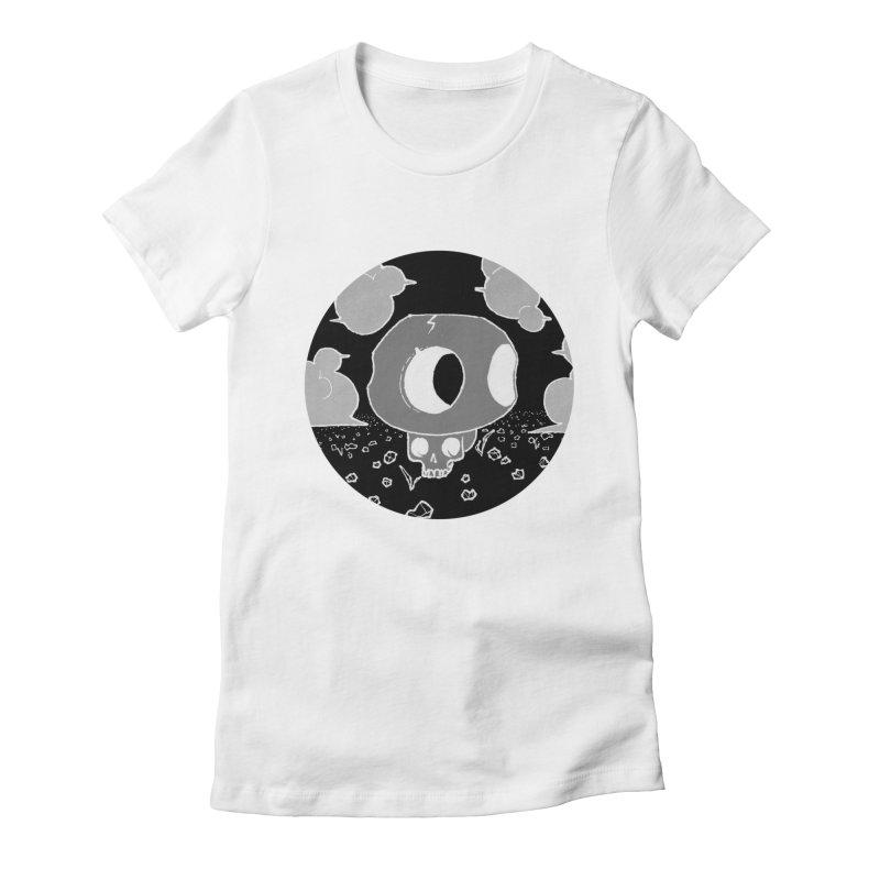Toad Skull Women's T-Shirt by Elan McCausland's Artist Shop