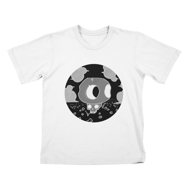 Toad Skull Kids T-Shirt by Elan McCausland's Artist Shop