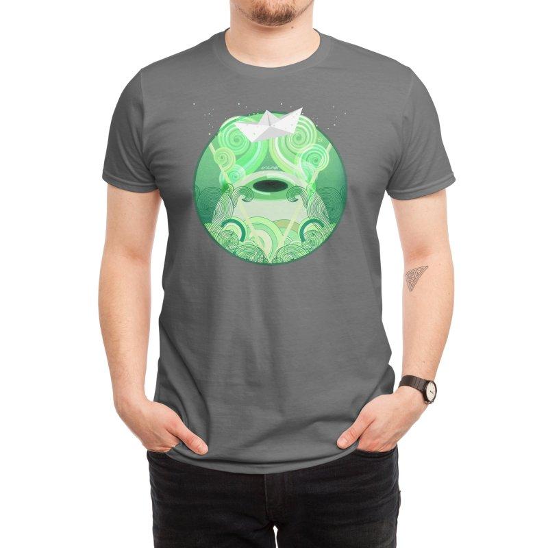 The Captain´s Eye Men's T-Shirt by Elias Rafful Artist Shop