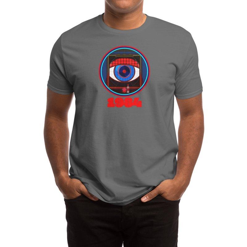 1984 Men's T-Shirt by Elias Rafful Artist Shop