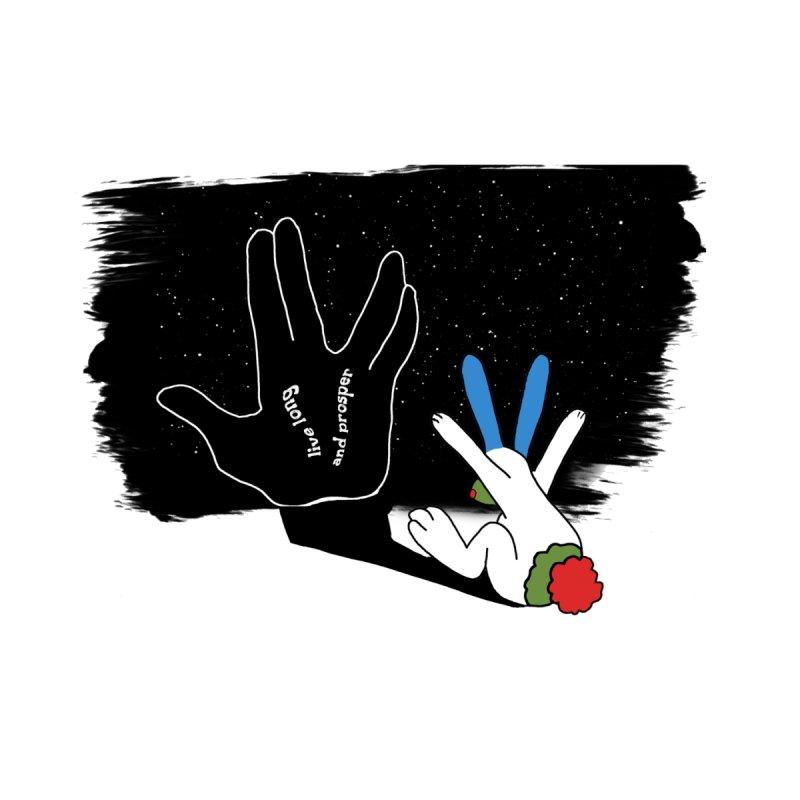 Live Long And Prosper None  by Ellarte Artist Shop