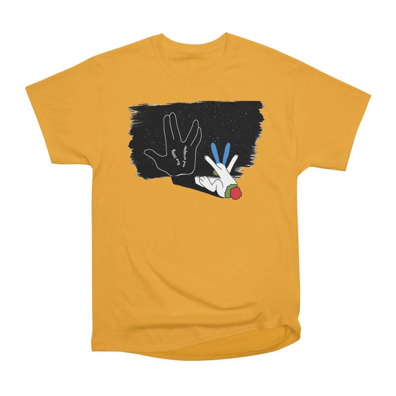 Live Long And Prosper Women's Classic Unisex T-Shirt by Ellarte Artist Shop