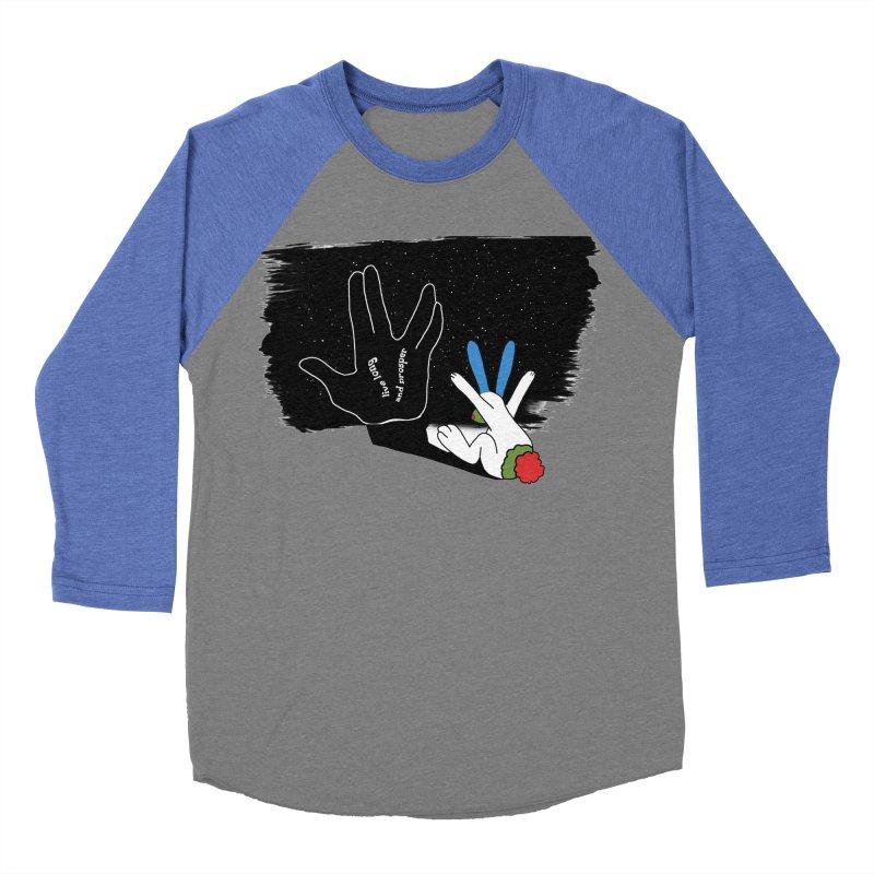 Live Long And Prosper Men's Baseball Triblend T-Shirt by Ellarte Artist Shop