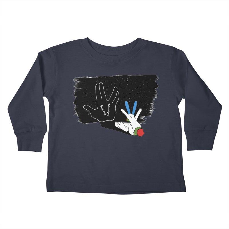 Live Long And Prosper Kids Toddler Longsleeve T-Shirt by Ellarte Artist Shop