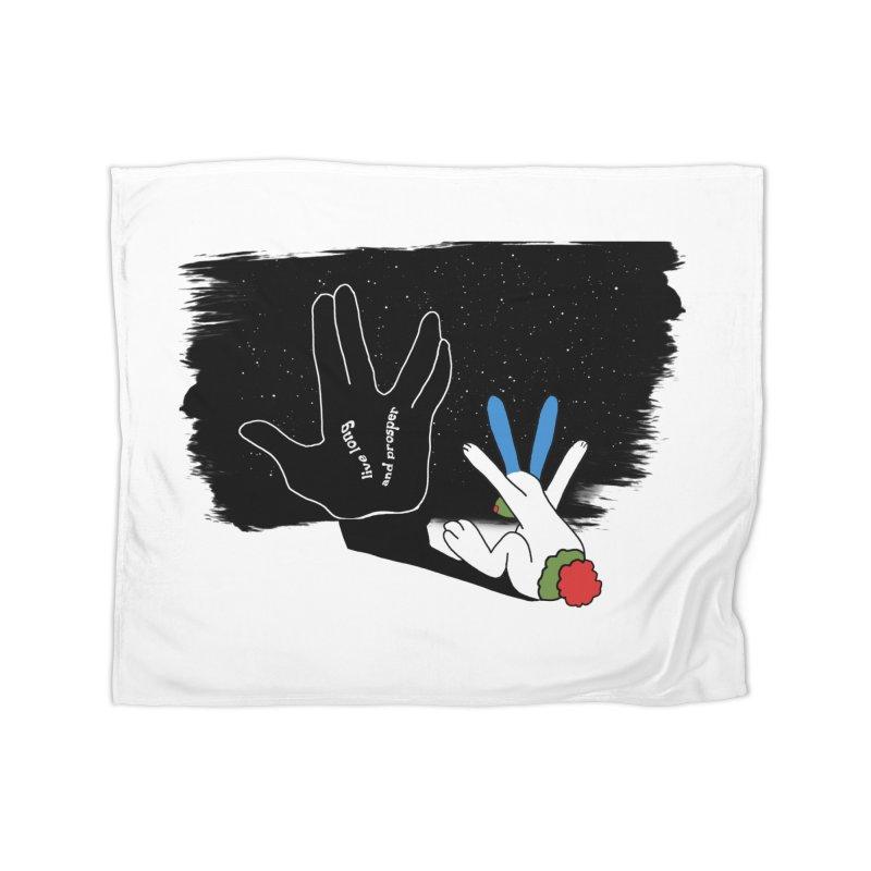 Live Long And Prosper Home Blanket by Ellarte Artist Shop