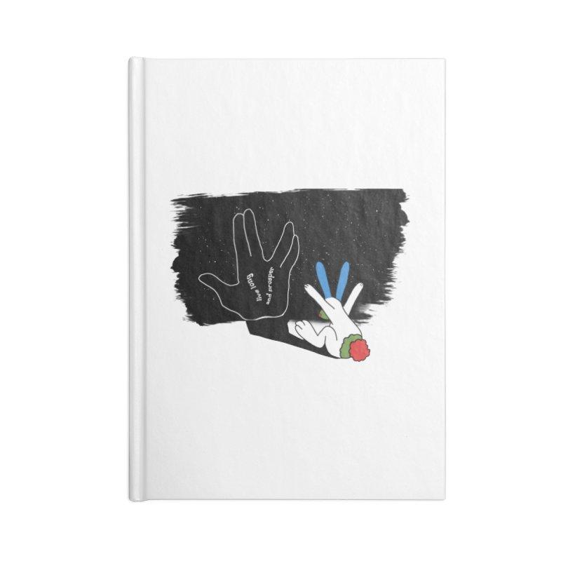 Live Long And Prosper Accessories Notebook by Ellarte Artist Shop