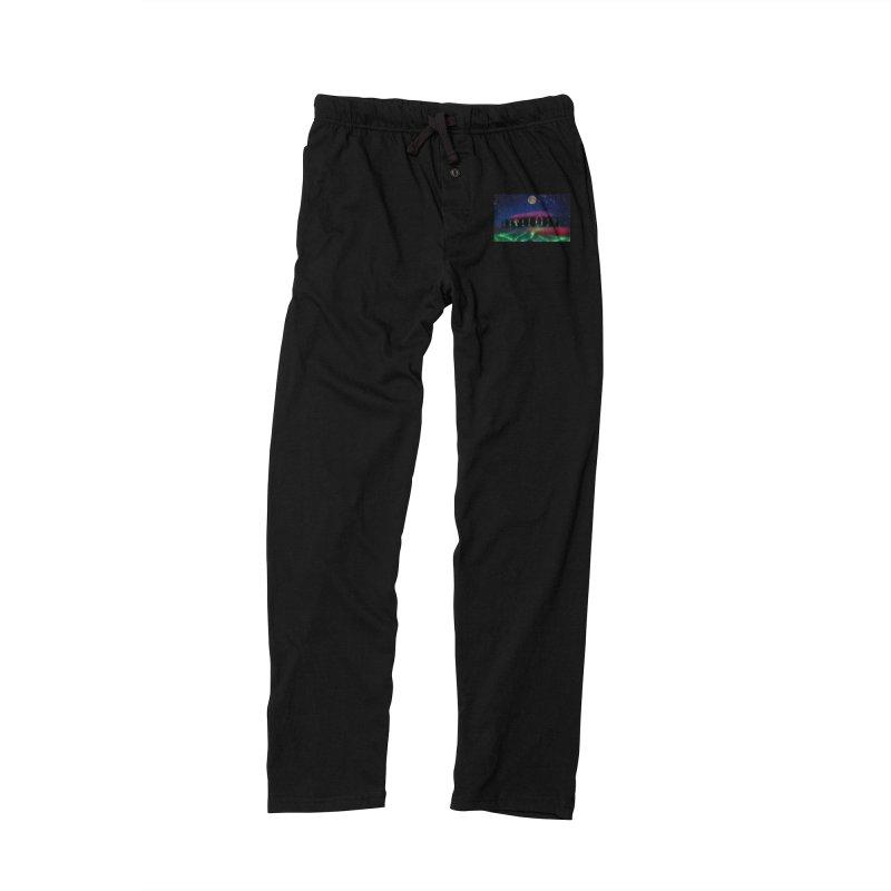 Dancing Aurora Men's Lounge Pants by Ellarte Artist Shop