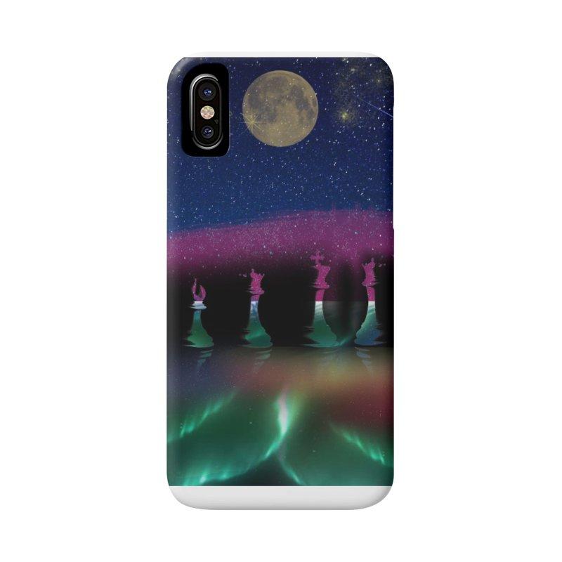 Dancing Aurora Accessories Phone Case by Ellarte Artist Shop