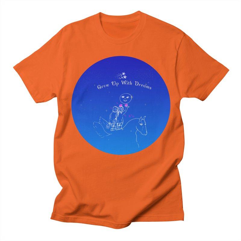 Grow Up With Dreams Men's T-shirt by Ellarte Artist Shop