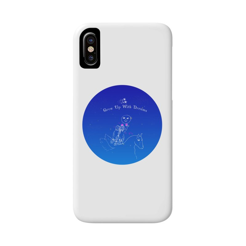 Grow Up With Dreams Accessories Phone Case by Ellarte Artist Shop