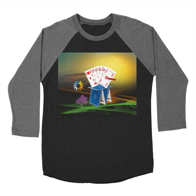 GoodFortune Men's Baseball Triblend T-Shirt by Ellarte Artist Shop