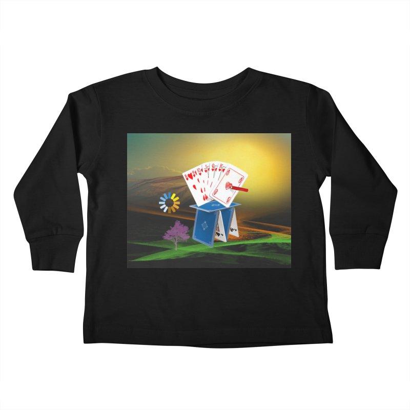 GoodFortune Kids Toddler Longsleeve T-Shirt by Ellarte Artist Shop