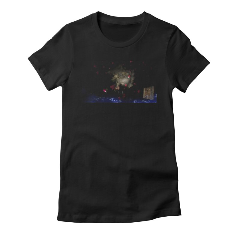 Uniqueness Women's Fitted T-Shirt by Ellarte Artist Shop