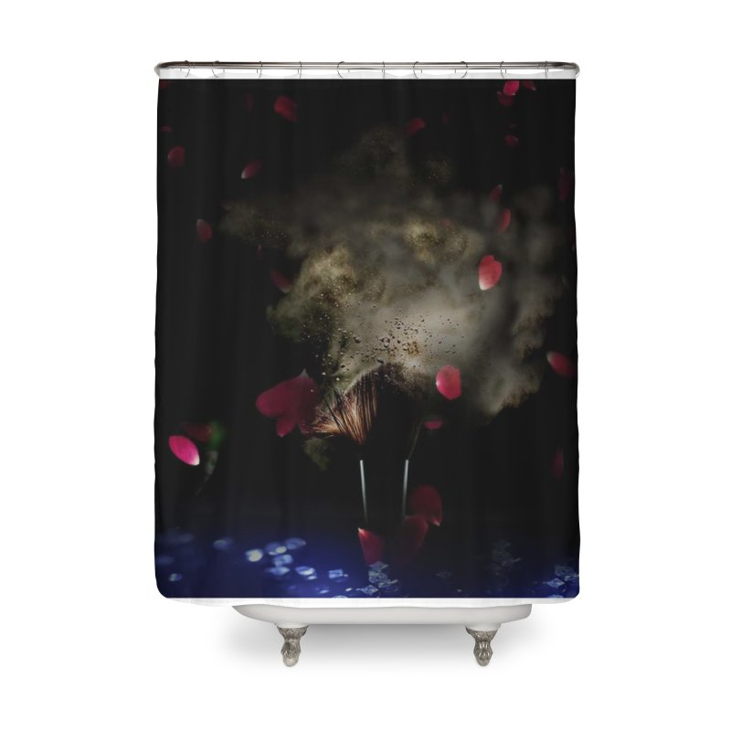 Uniqueness Home Shower Curtain by Ellarte Artist Shop