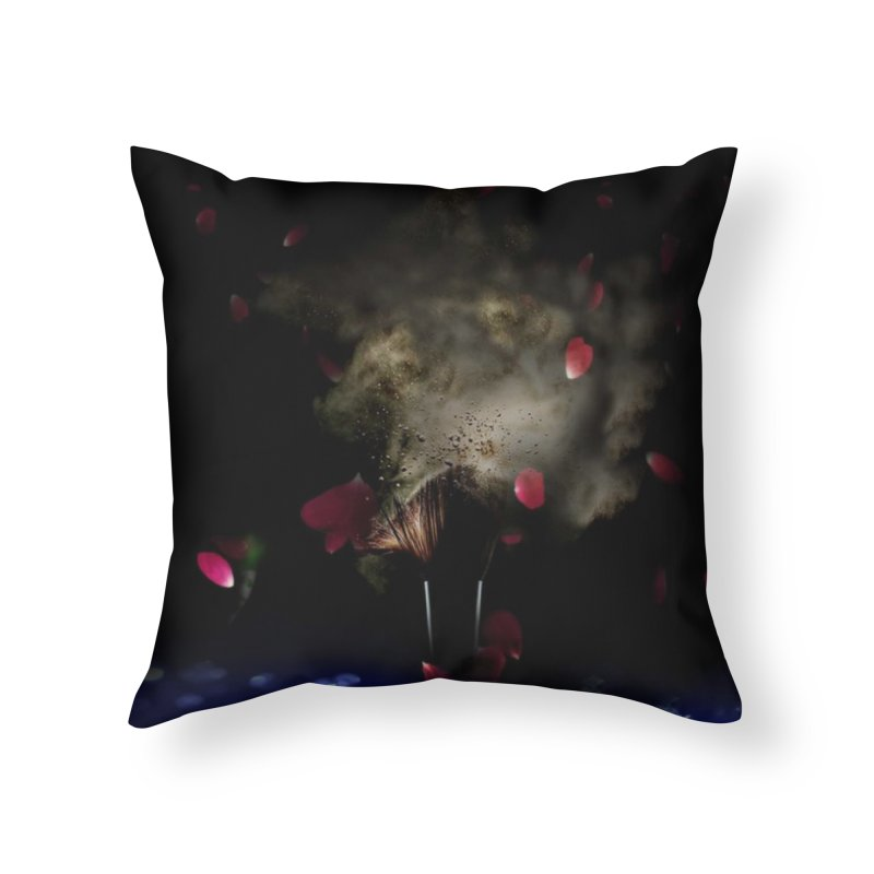 Uniqueness Home Throw Pillow by Ellarte Artist Shop