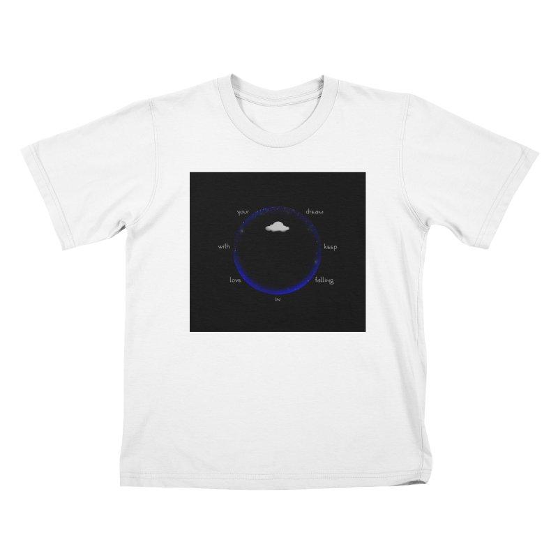 Voyages Kids T-Shirt by Ellarte Artist Shop