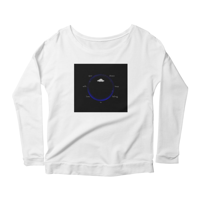 Voyages Women's Scoop Neck Longsleeve T-Shirt by Ellarte Artist Shop