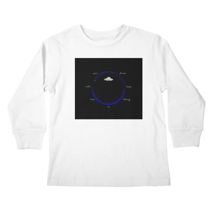 Voyages Kids Longsleeve T-Shirt by Ellarte Artist Shop