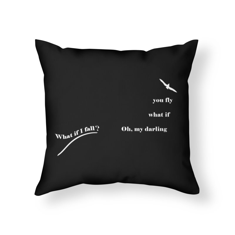You are doing better than you think Home Throw Pillow by Ellarte Artist Shop
