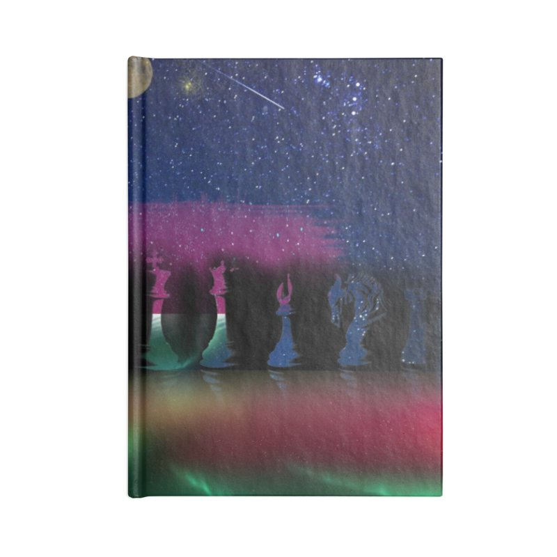 Dancing Aurora Accessories Notebook by Ellarte Artist Shop