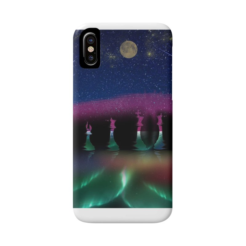 Dancing Aurora Accessories Phone Case by Ellarte Artist Shop