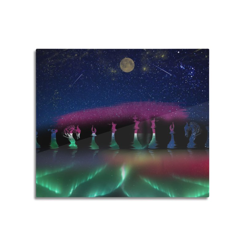 Dancing Aurora Home Mounted Acrylic Print by Ellarte Artist Shop