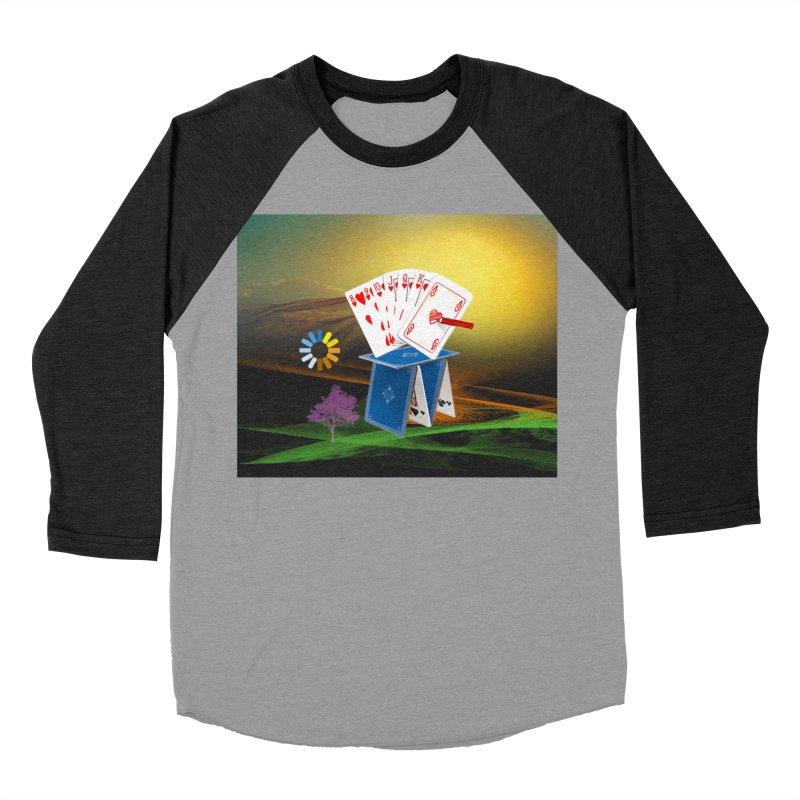 Good Fortune Women's Baseball Triblend Longsleeve T-Shirt by Ellarte Artist Shop